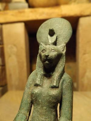 Egyptian statue of Sekhmet - Goddess of Mythology of ancient Egypt