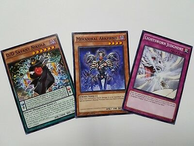 3X Yu-Gi-Oh 2017 Mega Tin Mega Pack Common - YOU PICK FROM LIST