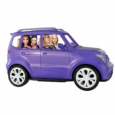 barbie glam purple suv with sunroof doll vehicle car toy girl gift picclick. Black Bedroom Furniture Sets. Home Design Ideas