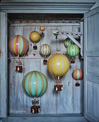 Travels Light Hot Air Balloon BLUE Decorations FREE SHIPPING