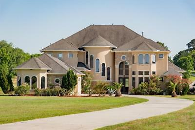 Mediterranean Custom Waterfront Estate, Clean Title, Ready to Move IN