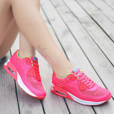 Women's Sports Running Sneaker Trainning Athletic Fitness Mesh Breathable Shoes