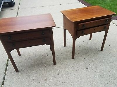 Bob Timberlake Lexington 2 Drawer Cherry End Table Lamp Side Made In Usa
