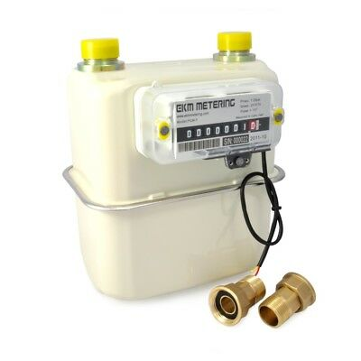 3/4 Inch Smart Gas Meter Pulse Output Internet Capable Remote Read Natural #40