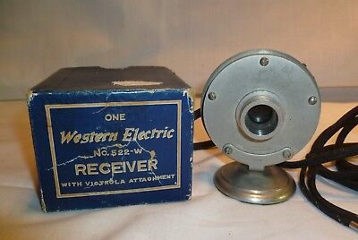 Antique Western Electric Driver Receiver 522-W