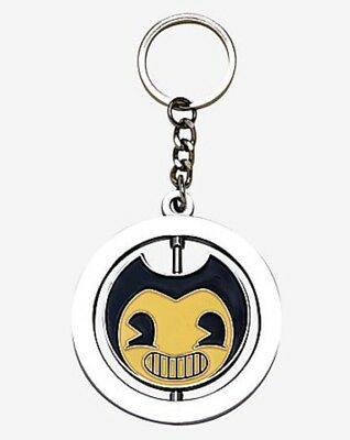Bendy And The Ink Machine Bendy Spinning Keychain New With Tags!