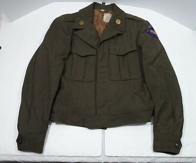 "WW2 US Army Air Corps ""Air University"" Ike Jacket 1946-38R"