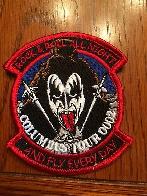 SUPT KISS Gene Simmons Pilot Training USAF patch 00-02 Columbus AFB T-37 T-38