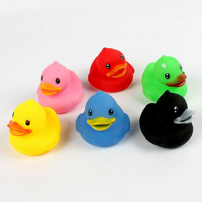 Set of 6 Holiday Rubber Duck Ducks Duckys Duckies Kids Baby Shower Bath Toy
