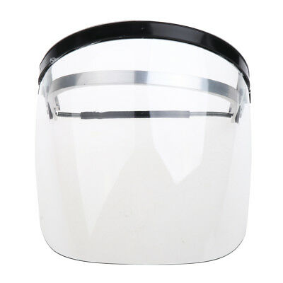 Protective Clear Face Shield -- Light, Firm, Flame Retardant, UV-Proof