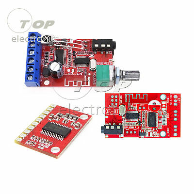 12V 30W*2 Bluetooth 4.2 Receiver Stereo Audio Power Amplifier Board AUX USB