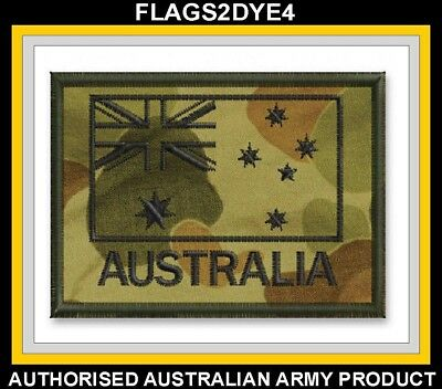Australian Army embroidered uniform cloth patch + FREE Lest we forget sticker #2