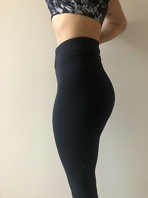 Brazilian Black tights. High waisted , long, made in Brazil, new, great quality.