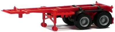 HO Scale Trucks -480004- 20ft Container Trailer - Red