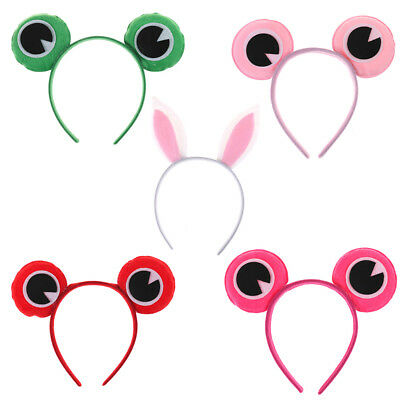 Newest Frog RABBIT Headband - Eye Fancy Dress Costume Animal Toad Outfit BR