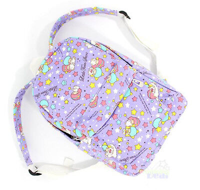 New Cute Canvas Little Twin Stars Student Girls Travel Schoolbag Backpack Bag