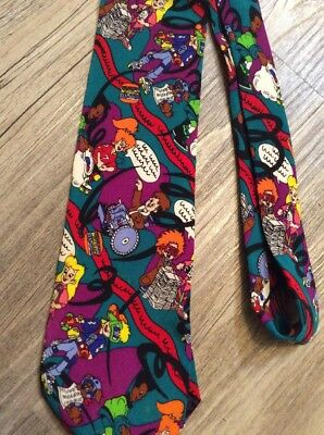 Vtg Burger King Kids Club Gang Tie Boomer Kid Vid Iq Jaws Lingo Wheels Bk