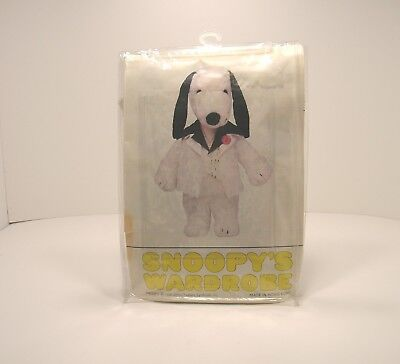 """Vintage Snoopy's Wardrobe 18"""" Disco Suit Outfit Hong Kong"""