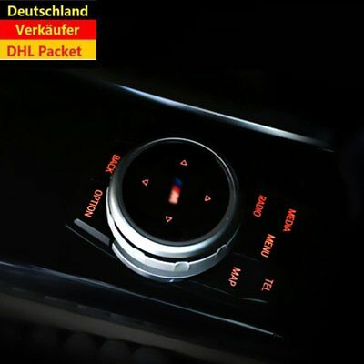 Replacement Bigger Multimedia Knob Cover IDRIVE Button For BMW M125 7 X1 X3