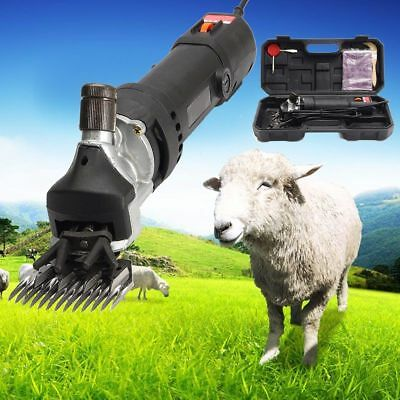480W Electric Shearing Supplies Clipper Shear Sheep Goats Alpaca Farm Shears New