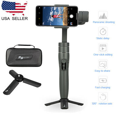 Feiyu Vimble 2 Extendable 3-Axis Handheld Gimbal Stabilizer +Tripod For Phone