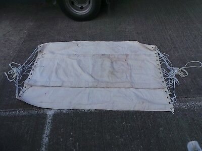 Vintage Royal Navy Stokers Hammock - Doubles into a Stretcher - 186cm x 125cm