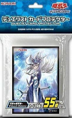 Yugioh Official Card Sleeve SILENT MAGICIAN Japanese KONAMI From Japan