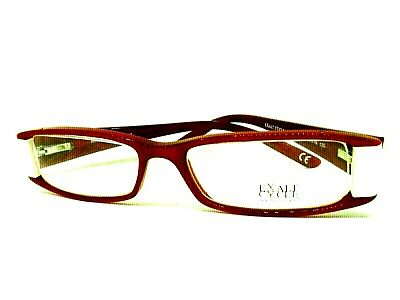 EXALT CYCLE montatura per occhiali da vista glasses eyewear made italy ROSSO RED