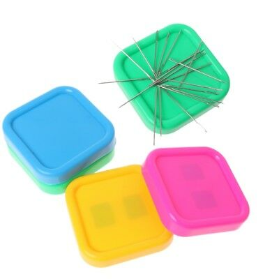 Magnetic Box Sewing Needles Storage Pins Case for Needlework Cross Stitch DIY