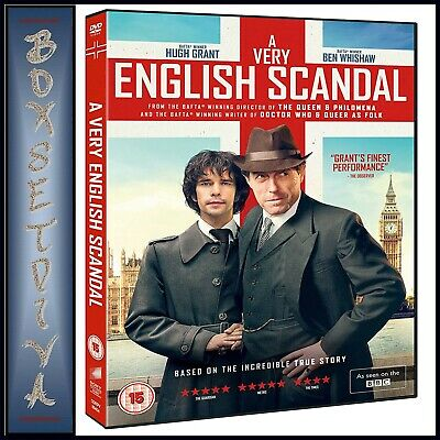 A Very British Scandal- Mini Series Based On A True Story **Brand New Dvd