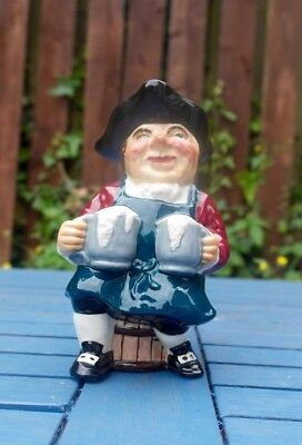 """Collectable Character Toby Jug """"Innkeeper"""" by Roy Kirkham Staffordshire Pottery"""
