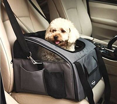 Pettom Pet Car Seat Carrier Airline Approved Dog Cat Lookout Booster Seat for