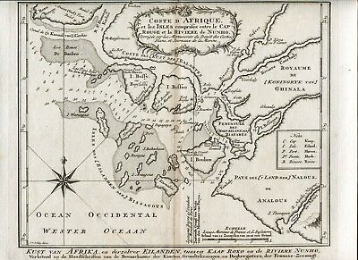 6 Views & 1 Map Mid 1700 Bellin / Schley Probably From Dutch Version Of Prevost