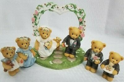 Cherished Teddies Wedding Collectibles Cake Toppers