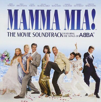 Mamma Mia The Movie Soundtrack Songs By Abba New Sealed Genuine Uk Retail Cd