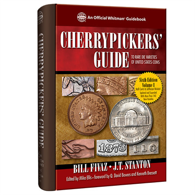 Cherrypickers' Guide To Rare Die Varieties 6Th Ed. Vol. 1 New W/ Free Shipping!!