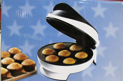 Muffin Maker backen für 7 Cupcakes Pop Cake Backgerät  max Muffinmaker 1500W