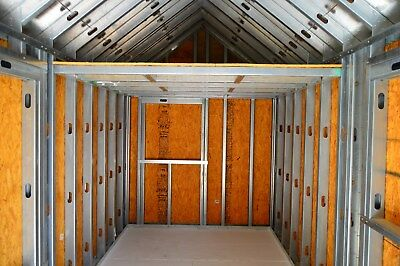 Tiny House Unfinished/Shell SteelStuds Brand New 7' W X 18' L Interior Dimension
