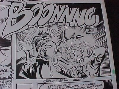 Gene Colan - Howard The Duck #30 - Dr. Bong!