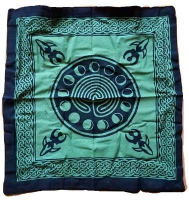 Celtic Pagan Earth Goddess Two-Sided Design 18x18 Cotton Tote Shoulder Bag