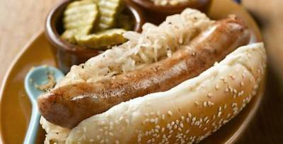 Bratwurst Sausage Kit  (includes seasoning and 32mm collagen casing) for 10lbs