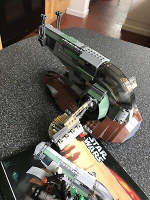 Lego Star Wars Slave I 6209 Instructions Included 4100