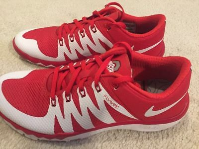 4ab8457b9a739 NIKE FREE TRAINER Ohio State Buckeyes 5.0 V6 AMP Men s Shoes Size ...