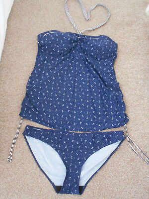 Maternity Halter-neck Tankini Size 18 Blooming Marvellous at Mothercare!!!