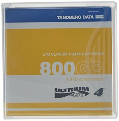 Tandberg 433781 LTO-4 Ultrium 800GB1.6TB Tape Cartridge - Single