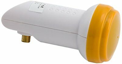 Golden Media High Gain Universal Single LNB with Gold-Plated Contacts Full HD, 4