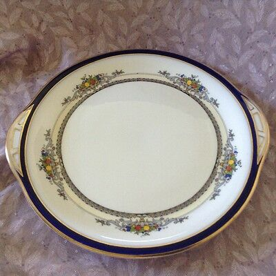 George Jones & sons Crescent The Alhambra cake plate