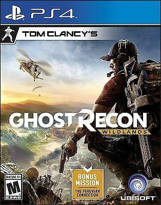 BRAND NEW SEALED Tom Clancy's Ghost Recon: Wildlands (PlayStation 4, 2017) PS4