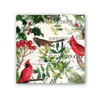 Winter's Tale Napkins by Michel Design Works - Cocktail, Luncheon or Hostess