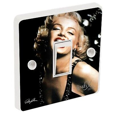 Marilyn Monroe Light Switch Sticker Vinyl / Skin cover sw80. the grafix studio